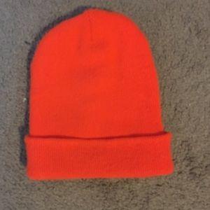 Carhartt Accessories - orange carhartt beanie